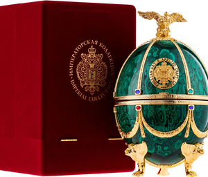 Vodka Carskaja Imperial Collection Faberge Smaragd GBX 40% 0,7l
