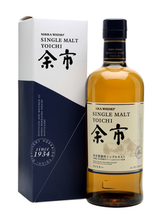 Whisky Nikka Yoichi + GB 45% 0,7l