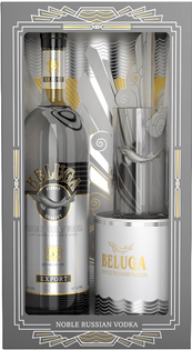 Vodka Beluga Noble + Highball pohár GBX 40% 0,7l